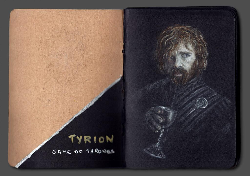 Tyrion Portrait (Book Scan 2)