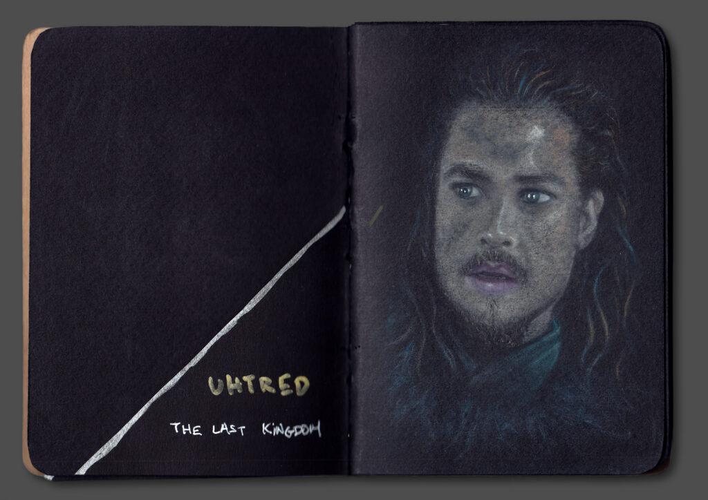 Uhtred Portrait (Book Scan 2)