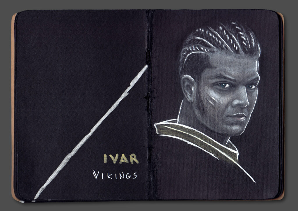 Ivar Portrait (Book Scan)