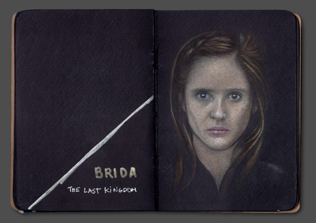 Brida Portrait (Book Scan 2)