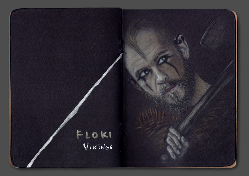 Floki Portrait (Book Scan 2)