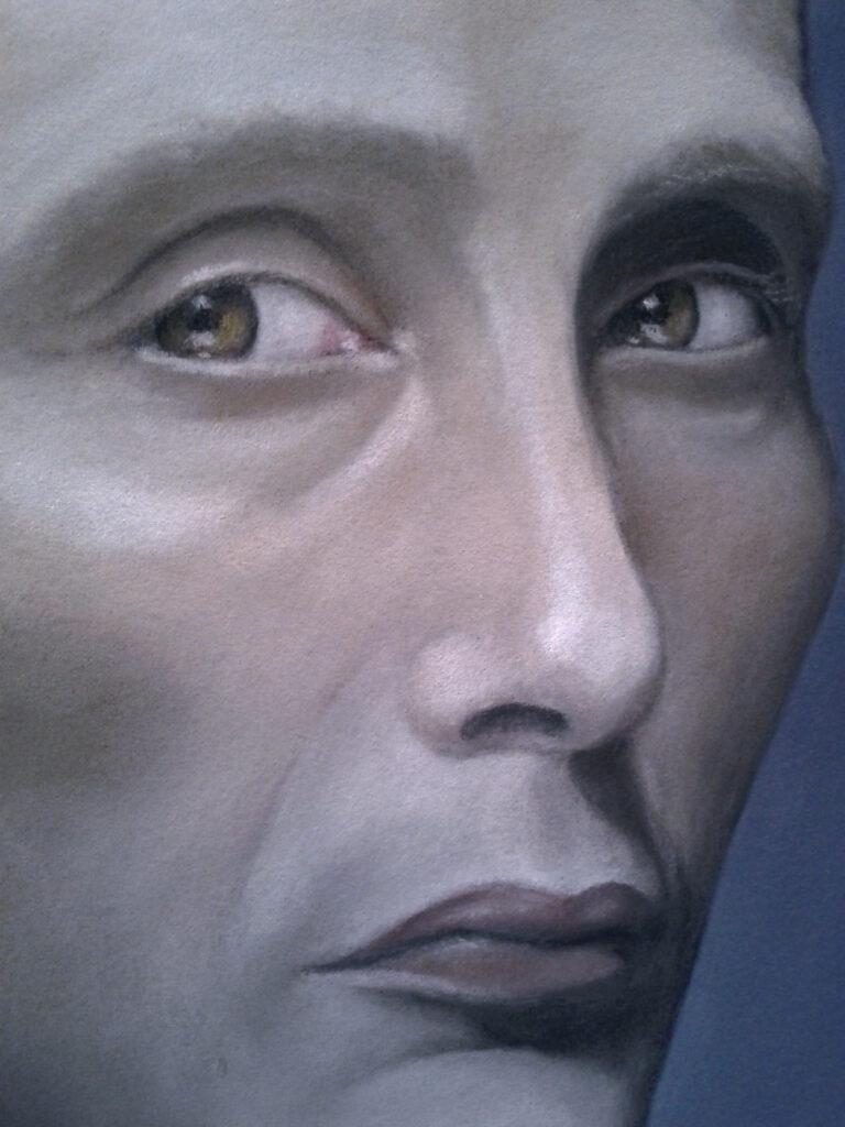 Hannibal portrait (face close-up)
