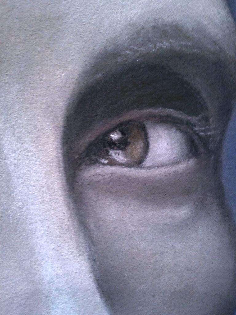 Hannibal portrait (left-eye close-up)