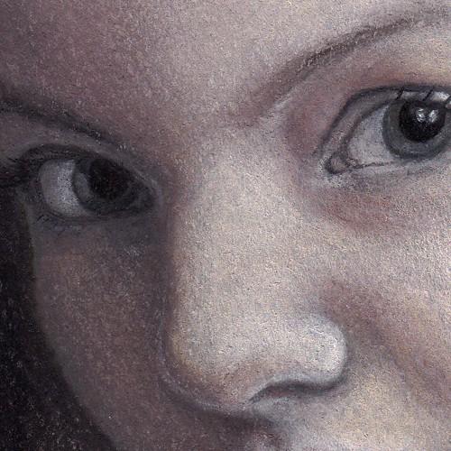 Lucrezia portrait (face close-up)