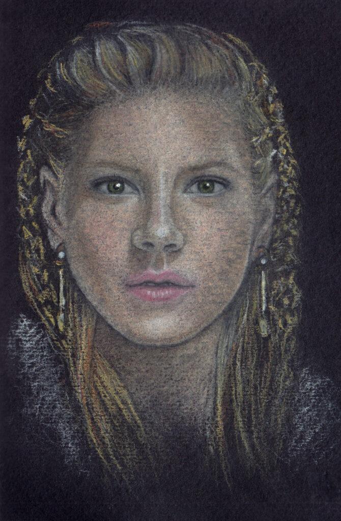Lagertha (Vikings) Portrait