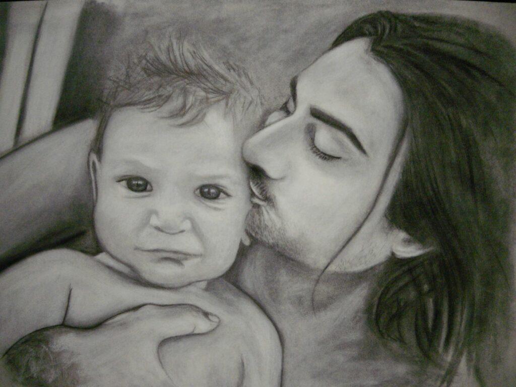 Stéphane & Noah Portrait